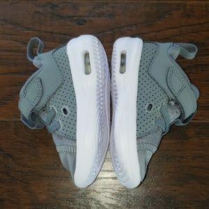 Baby Air Jordans Grey
